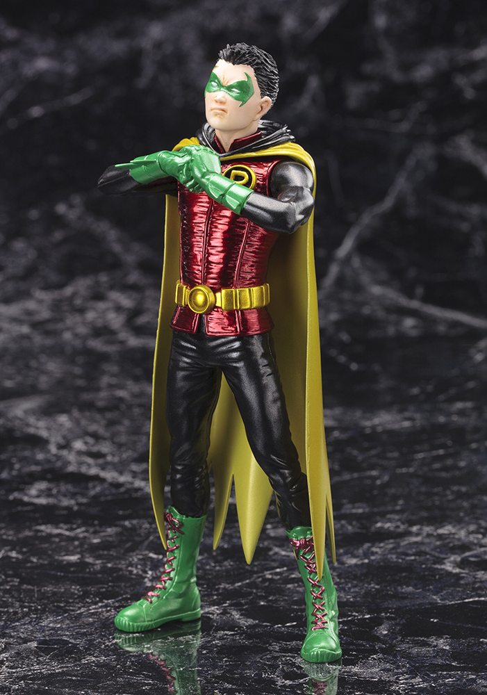 DC Comics - Robin (Damian Wayne) New 52 & DC Comics - Robin (Damian Wayne) Statue ? Kotobukiya Europe