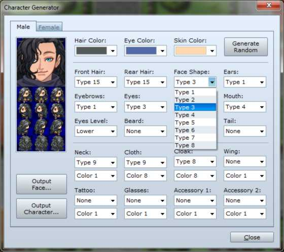 Rpg maker vx ace rpg maker create a game rpg maker vx ace character generator 01 sciox Choice Image