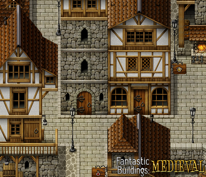 Fantastic Buildings Medieval Make Your Own Game