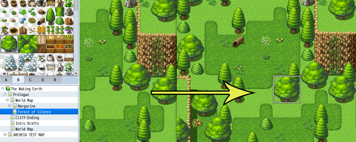 RPG Maker MV Feature Three Map Layers