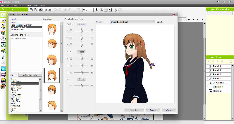 Manga Maker ComiPo! Screenshot 02