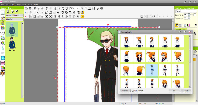 Manga Maker ComiPo! Screenshot 03