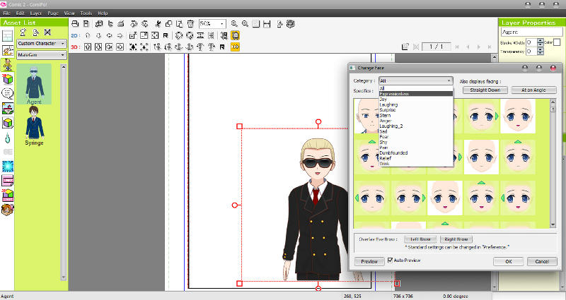 Manga Maker ComiPo! Screenshot 05