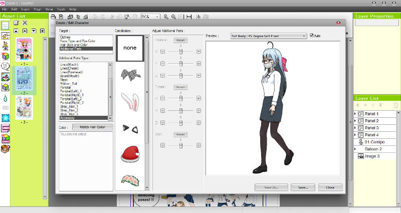 Manga Maker ComiPo! Screenshot 09