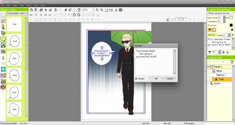 Manga Maker ComiPo! Screenshot 11