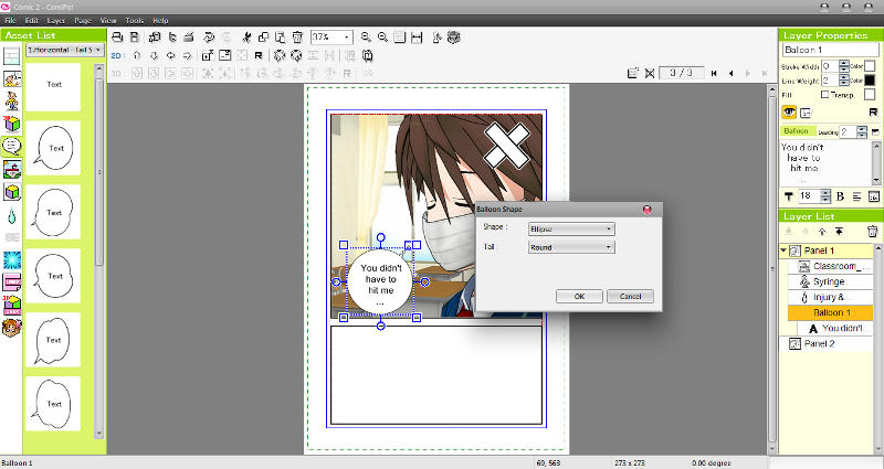 Manga Maker ComiPo! Screenshot 13