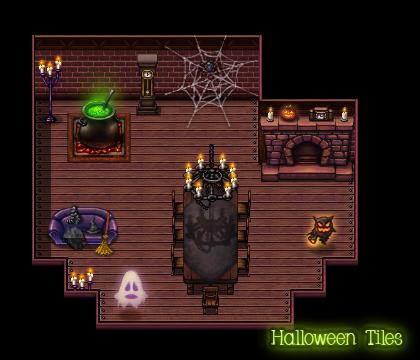 halloween tiles resource pack