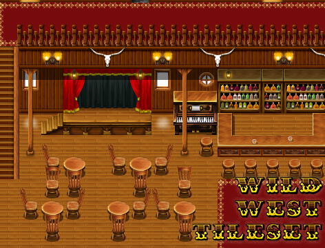 Wild West Tiles Pack | Make Your Own Game!