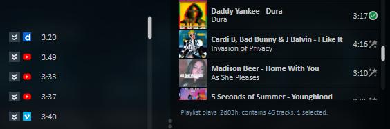 音楽の検索
