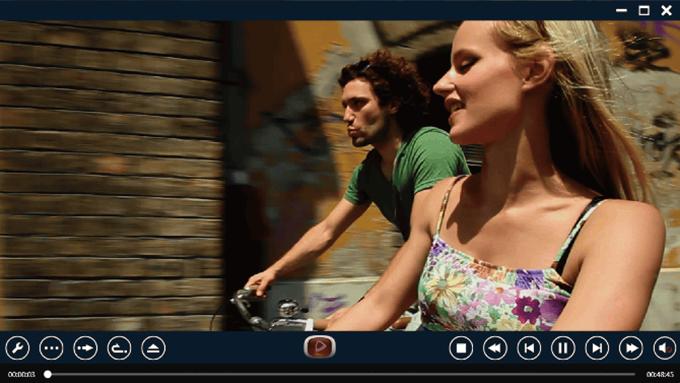Enjoy Blu-ray/DVD:充実のDVD/ブルーレイ再生機能