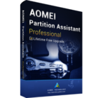 AOMEI Partition Assistant Professional (生涯アップグレード) ダウンロード版