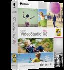 VideoStudio Pro X8 (ダウンロード版)