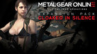 "「METAL GEAR ONLINE」EXPANSION PACK ""CLOAKED IN SILENCE"""