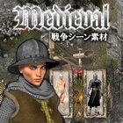Medieval:戦争シーン素材