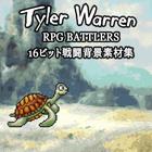 Tyler Warren RPG BATTLERS - 16ビット戦闘背景素材集
