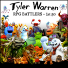 Tyler Warren RPG BATTLERS - 1st 50