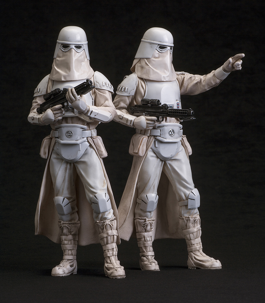 figurine star wars snowtrooper