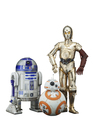 Star Wars - C-3PO & R2-D2 avec BB-8