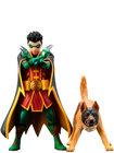DC Comics - Robin and Bat-Hound ARTFX+