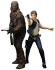 Star Wars - Han Solo & Chewbacca