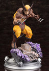 "Marvel - Wolverine Brown Costume ""Danger Room"" Fine Art Statue"