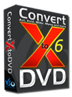 ConvertXtoDVD 6 (ダウンロード版)