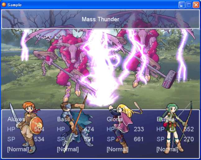 RPG Maker XP Battle System 02