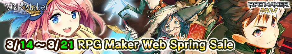 RPG Maker Web Spring Sale‼︎ 2019