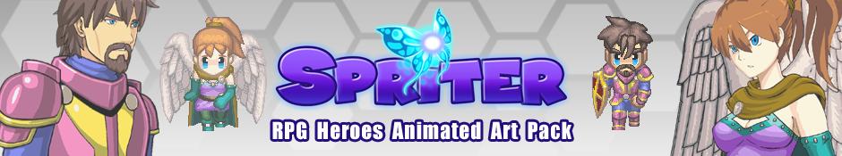 Spriter Pro DLC: RPG Heroes Art Pack
