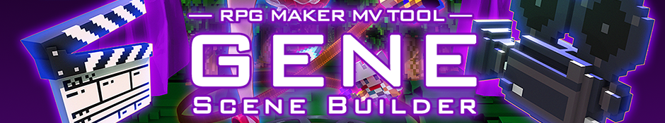 RPG Maker MV: GENE Scene Builder Tool