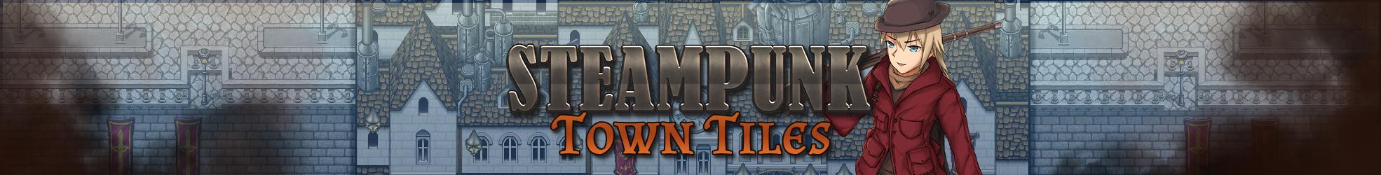 Steampunk Town Tiles