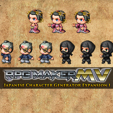 Japanese Character Generator Expansion 1