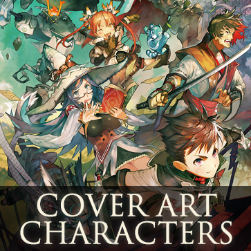 RPG Maker MV: Cover Art Characters Pack