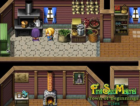 FSM: Town of Beginnings Tiles | RPG Maker Forums