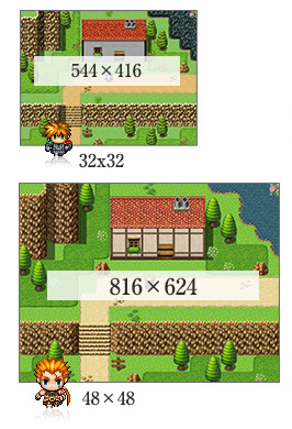 RPG Maker MV Feature Higher Screen Resolution