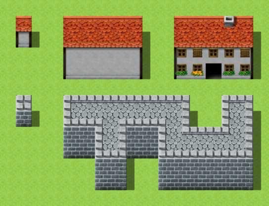 RPG Maker VX Autotiles