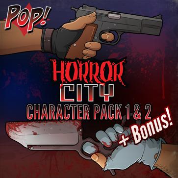 Pop! Horror City: Character Bundle