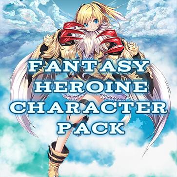 Fantasy Heroine Character Pack