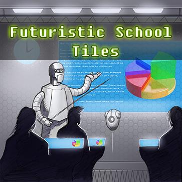 Futuristic School Tiles
