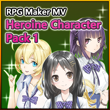 Heroine Character Pack 1