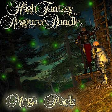 High Fantasy Resource Bundle Mega Pack