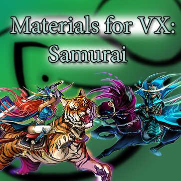 Materials For VX: Samurai