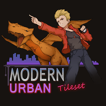 Modern Urban Tileset