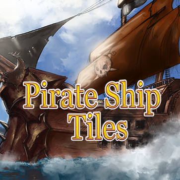 Pirate Ship Tiles Pack
