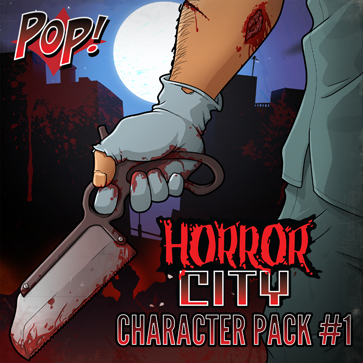 Pop! Horror City: Character Pack 1