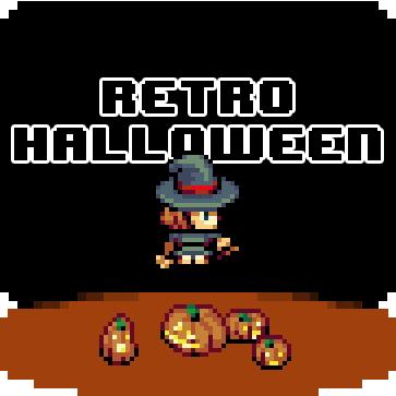 Retro Halloween Tiles