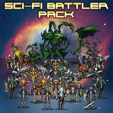 Sci-Fi Battler Pack