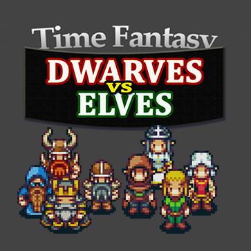 Time Fantasy Add-on: Dwarves Vs Elves