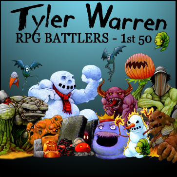 Tyler Warren RPG Battlers – 1st 50