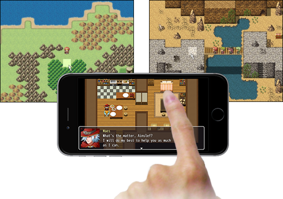 RPG Maker MV Feature Mouse And Touch Input Support
